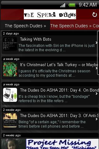 Speech Dudes