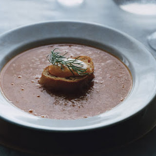 Provencal Fish Soup with Saffron Rouille