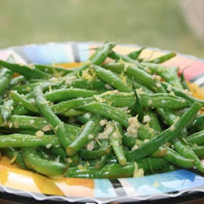 South Beach Green Beans With Garlic and Lemon