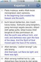 Screenshot of Bacaan Alkitab