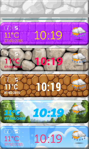 Kids Clock Weather Widget APK