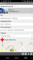 Screenshot of City of Graz Defi App