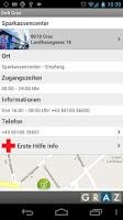 Screenshot of City of Graz Defi App