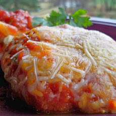 Sarah's Super Fast Chicken Parmesan