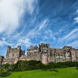 Bamburgh Castle by Nicole Williams - Novices Only Landscapes ( coast castle northumberland )