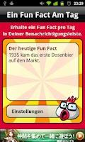 Screenshot of One Fun Fact A Day