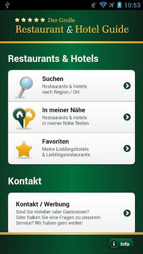 Der Große Restaurant Hotel G