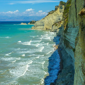 Corfu Island by Mihai Popa - Landscapes Waterscapes ( water, grecia, corfu, beach logan )