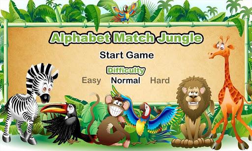 Alphabet Match Jungle
