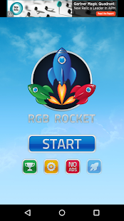 RGB Rocket - screenshot