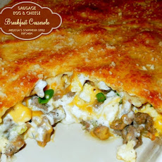 Sausage, Egg & Cheese Breakfast Casserole