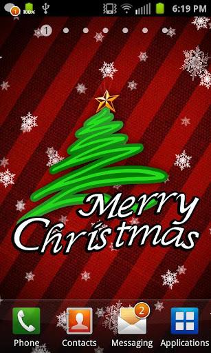 聖誕快樂生活壁紙
