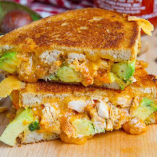 Spicy Peanut Chicken Grilled Cheese Sandwich (aka The Chicken Satay Melt)