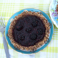 Gluten Free Blackberry Tartlets With Almond Crust