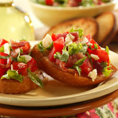 Bacon, Lettuce and Tomato Bruschetta