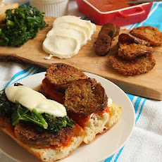 Make Your Own Eggplant Parmesan Sandwiches
