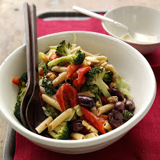 Pasta Salad with Roasted Broccoli