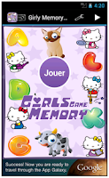 Screenshot of Girls Memory Games