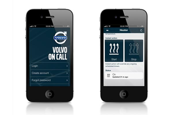 volvo crowdsourcing to update innovative 39 on call 39 smartphone app carhoots. Black Bedroom Furniture Sets. Home Design Ideas