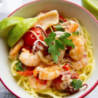Low Fat Prawns With Pasta Recipes