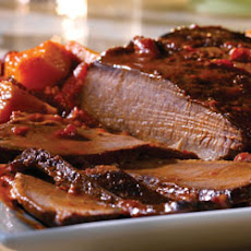 Holiday Brisket with Savory Onion Jus