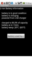 Screenshot of Battery Check