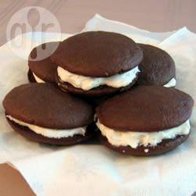 Whoopie Pies with Marshmallow Filling