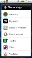 Screenshot of Memory Widget