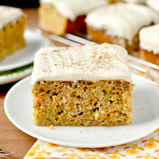 Magic Carrot Cake Bars
