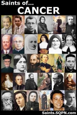 Saints for Cancer