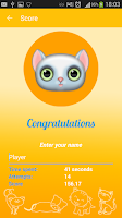 Screenshot of Cat's Memory GAME FREE