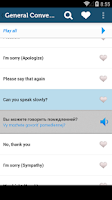 Screenshot of Learn Russian Phrasebook Pro