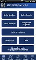 Screenshot of Wenpas Stellenmarkt - Jobsuche