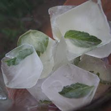 Mint Ice Cubes