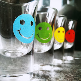 smile, lets have some shots by Dan Sketchley - Food & Drink Alcohol & Drinks ( macro photography, glass, shot )