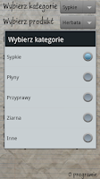 Screenshot of Kalkulator kuchenny