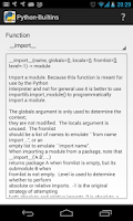 Screenshot of Python Builtins