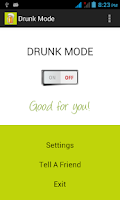 Screenshot of Drunk Mode