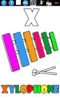 Screenshot of Alphabet Coloring Book for Kid