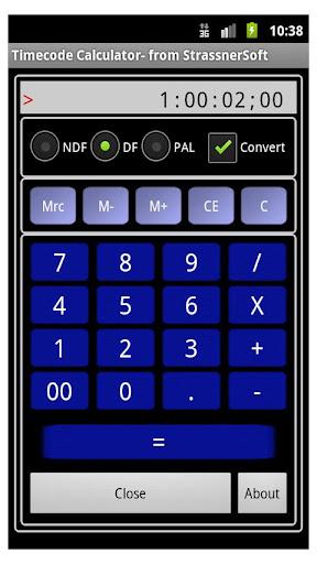 TCCalc Time Code Calculator