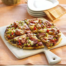 Barbeque Smoked Sausage Pizza