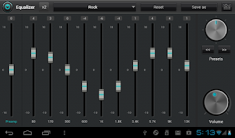 Screenshot of jetAudio Music Player+EQ