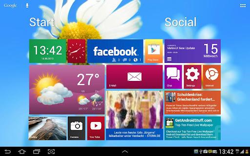 Metro Ui HD Widget Tile Win 8
