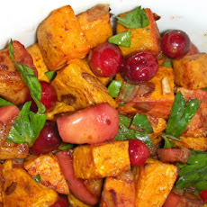 Sweet Potato and Cranberry Saute