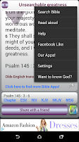 Screenshot of Uplifting Psalms Daily