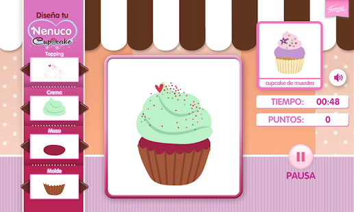 Game dise a tu cupcake con nenuco apk for windows phone for Disena tu casa app