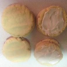 Lemon Pudding Sugar Cookies