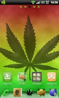 Screenshot of Go Launcher EX Rasta Theme