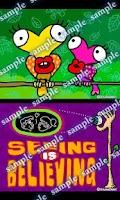 Screenshot of Daily Cartoon003 LWP & Clock