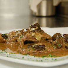 Veal Marsala (With Onion and Mushrooms)